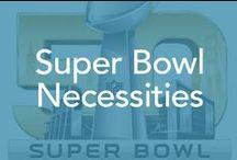 Super Bowl Necessities / Food, decorations