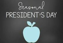 President's Day / If you're on the lookout for great President's Day ideas to use in your elementary classroom or home school, you've come to the right place! Here you'll find great tips, resources, FREE downloads, activities, games, arts, crafts, and more for your Kindergarten, 1st, and 2nd grade students. They're great to use anytime you want to celebrate or recognize our presidents for a social studies lesson or other activity. Make sure to check them all out today!