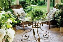 Garden Rooms / Garden Rooms to sit in, Garden Sheds to pot in, Rooms in the Garden. / by Gloria Cain