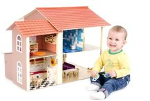 Woodhouse Wonders / Handmade dollhouses Dog houses Outside children houses