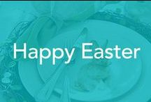 Happy Easter /  Entertaining , table setting, cooking, decorations, baking, Easter baskets, family photography.