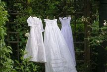 Blowing in the Wind / Sunshine dried,crisp clean air dried smell of washing on the line / by Gloria Cain