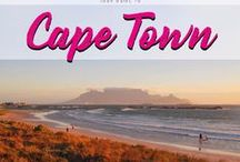 Cape Town / Your guide to vibrant Cape Town. My old home town will surprise you with it´s beaches, people, markets, concerts, fine dine, wild life and amazing Table Mountain.