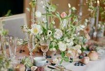 Vintage Weddings / Floral ideas for your own vintage wedding; bridal bouquets, bridesmaids, buttonholes, venue decorations and centrepieces.