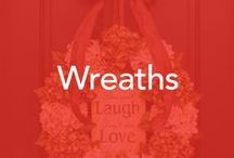 Wreaths for all occasion / all seasons wreaths  ideas and decorating them!