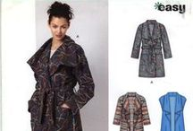 Winter Coats/Jackets/Outerwear / Winter Coats/Jackets/Outerwear Sewing Pattern Collection.  Up to 90% off Retail Prices Everyday! $3.00 Flat Rate USA Shipping. $9.00 International.