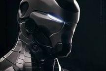 Sci-Fi Masks / Random selection of...err...science fiction masks for reference
