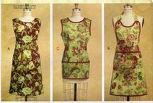 DIY Apron Sewing Patterns / Aprons Sewing Pattern Collection.