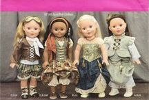 DIY Dolls, Clothes and Accessories Sewing Patterns / Dolls Sewing Pattern Collection