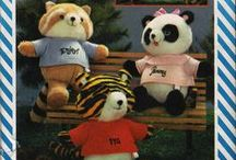 Plush Animal Sewing Patterns / Our collection of sewing and craft patterns for many kinds of plush animals.