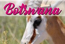 Botswana / Your guide to Botswana. Discover this amazing country in southern Africa with its breathtaking wildlife.