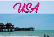 USA / Your guide to the United States of America. Discover the beautiful landscape of the USA.