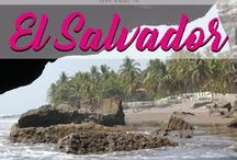 El Salvador / Your guide El Salvador. Discover this latin american country with amazing surf spots, good food, green hills and mystical pyramids.