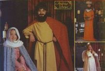 Nativity Costume Sewing Patterns / Our collection of sewing patterns for nativity costumes.