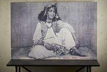 Canvas Prints / Vintage postcards found on the Parisian Left Bank, converted into Canvas art pieces