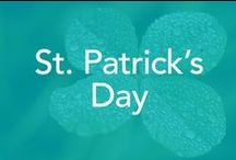 St. Patrick's Day / Food, entertainment, decorations, color green, quotes, treats.