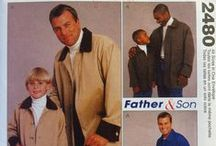 All Men's/Boys'/Juniors' Sewing Patterns / Entire Catalog of Men's and Boys' Sewing Pattern Collection.  McCall's, Simplicity, Burda, Vogue, and Butterick. Save Up to 90% off Retail Prices. $3.00 Flat Rate Shipping in U.S.