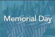 Memorial Day / Flower arrangements, keepsakes,