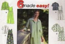 6 Made Easy Sewing Patterns / Our Collection of 6 Made Easy Sewing Patterns.  Thousands of Patterns to Choose From