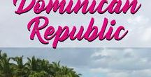 Dominican Republic / Your guide to Dominican Republic. Discovered the caribbean island from green hills to sandy beaches.
