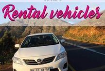 Rental Vehicles /  Your guide to rental vehicles. All you need to know, if you want to hire a car, camper or scooter.