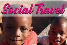 Social Travel / Beeing a responsible traveler means much to me. So I support the idea to travel and do good. Here is my guide to Social Traveling projects and articles about responsibility. Discover beautiful places and do good!