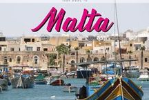 Malta / Your guide to Malta. Discover all you need to know about this little Island in Europe with stunning beaches, blue ocean and historical cities.