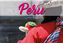 Peru / Your guide to Peru. Discover culture, mystical cities, the green rainforest and deserts of this amazing country in Southern America.