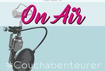 Couchabenteurer on Air / Here you can found the steems of Couchabenteurer´s Radio-Interviews.