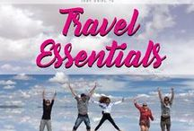 Travel Essentials / Your guide to the most important travel essentials.