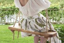 Rope & Tree Swings / Traditional, old fashioned tree swings