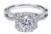 Engagement Styles We Love / Your engagement ring should be as unique as you! Here is a variety of gorgeous rings, from contemporary to Victorian, that fits every aisle style.