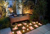 Inspiration pour l'éclairage au jardin / Idées d'inspiration pour apporter de la lumière au jardin