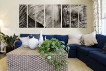 Wildlife Art on Canvas / Bring the wildlife in your living room with canvas designs by Vibrant Canvas Prints.  Prints on canvas created for outstanding wall art home and office decor.