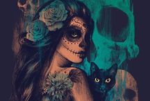 -Day of the dead, Muerte messicana- / -Death Art-