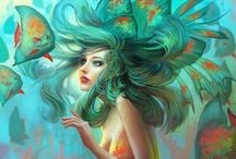 -Mermaid- / -Life on the sea-