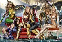 -Marvel & DC Comics-