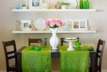 Kitchen decor / shelves