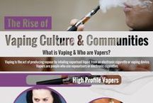 Vaping Facts / Dispelling myths that surround vaping and electronic cigarettes in Ireland.