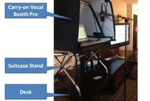 Portable Vocal Booth - Carry on Vocal Booth