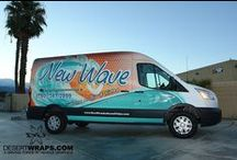 Vehicle Wraps / By Desert Wraps. Take  look at our work and stop by to view samples! http://www.DesertWraps.com
