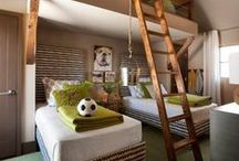 Kids Rooms / Great ideas Inspiration for the little people!