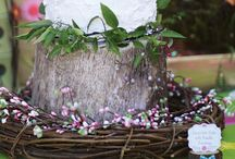 Shower theme ideas / Shabby chic meets the whimsical woodlands :)