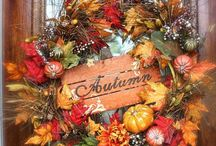 Autumn Decor n Harvest / If interested, I am available to make ANY of these beautiful Fall Decorations at a very reasonable price. Just send me a note so we can talk.