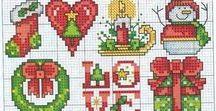 Haft - Boże Narodzenie
