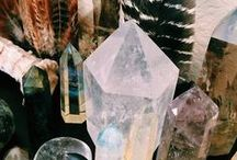 Crystals, Stones and stars / beauty of le nature