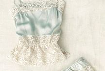 Silky lingerie / Beautiful, elegant lingerie, nighties, that you want to feel relaxed and sexy in, without being over the top - bridal lingerie, honeymoon lingerie, or just because you're worth it!
