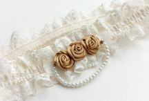 Custom-Made Bridal Accessories / Totally unique, these are custom-made items made at Blue Lily Magnolia.