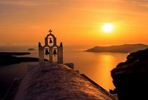 Peace & Calm / Sunsets from around Greece Enjoy!