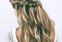 Wedding Hair Ideas - Long Hair / Hair ideas for long locks, wedding braids, wedding curls, wedding dos , long hair wedding styles